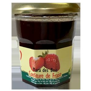 confiture les fraises de normandie